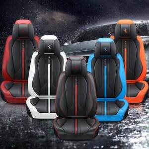 Universal Car Bucket Seat Cover Full Set Cushion Protector Interior Accessories