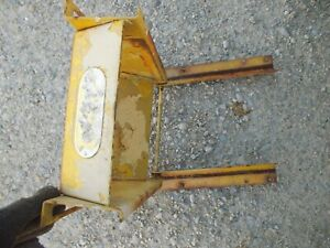 Ihc International Cub 154 Tractor Ihc Main Seat Mounting Bracket Ih