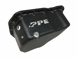Ppe 2001 2010 Duramax Engine Oil Pan Chevy Gmc Made In U s a Flat Bottom Black