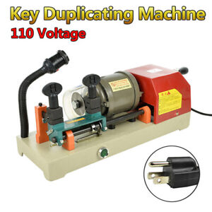 Key Duplicating Machine Copy Key Cutting Cutter Duplicator Locksmith Set Tool Us
