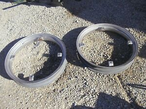 Allis Chalmers G Tractor Repainted Ac Rear Tractor 5 X 30 Rims Rim