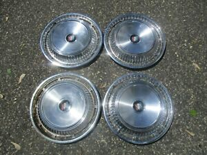 1962 Buick Lesabre Factory 15 Inch Hubcaps Wheel Covers Set