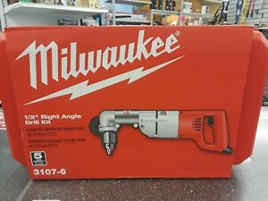 Milwaukee Right Angle Drill 3107 6