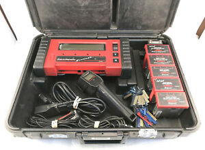 Snap On Diagnostics Super Deluxe Scanner Mt2500 Bundle With Accessories