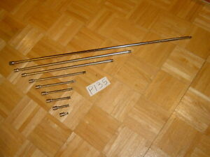 Snap on Tools 9 Piece 3 8 Drive Extension Set 1 Inch 36 Inches 208afx Plus 1
