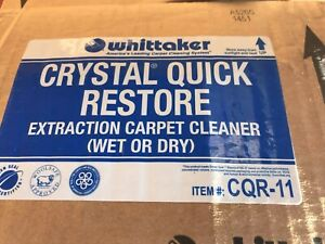 Whittaker Carpet Cleaning Cqr 11 Extraction Crystal Quick Restore Pre spray 12