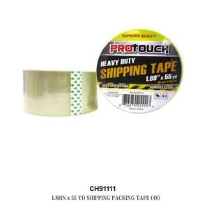 Lot Of 48pcs 1 89in X 55yd Shipping Packing Tape Whole Sale
