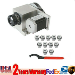11pcs 3 20mm Standard Er32 Collet Chuck 57 Phase Stepper Motor For Cnc Engraver