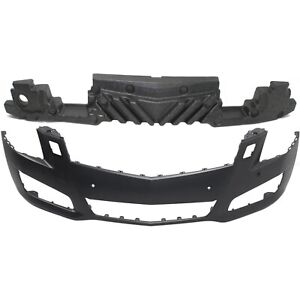 Bumper Cover Kit For 2013 14 Cadillac Ats Front Bumper Absorber And Cover 2pc