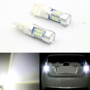 Total 2200lm 6000k White High Power Led 100w 3156 3157 Reverse Backup Light Bulb