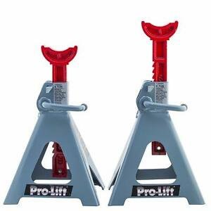 Pro Lift T 6906d Double Pin Jack Stands For Home Auto Truck Service 6 Ton
