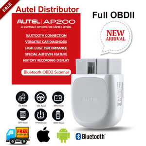 New Autel Obd2 Wifi Bt Auto Diagnostic Scan Tool Reset All Systems Mk808 Mx808