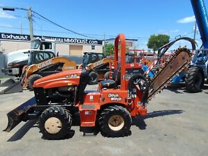 2014 Ditch Witch Rt45 Riding Trencher Only 868 Hours Deutz Diesel
