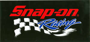 new Vintage Snap on Tools Racing Tool Box Sticker Decal Man Cave Garage 1