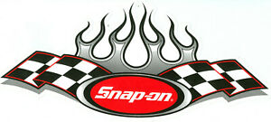 new Vintage Snap on Tools Racing Tool Box Sticker Decal Man Cave Garage 44