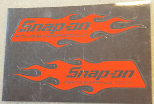 New Vintage Snap On Tools Tool Box Sticker Decal Man Cave Garage High Perf 51