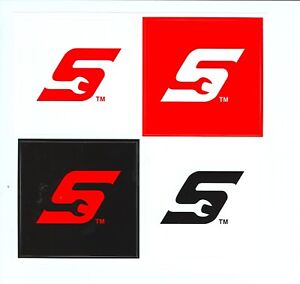 New Vintage Snap On Tools Tool Box Sticker Decal Man Cave Garage Set Of 4 34