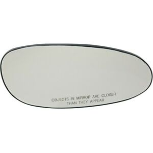 New Mirror Glass Passenger Right Side For Olds Rh Hand Buick Century 12453282