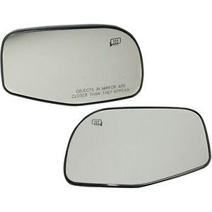 Mirror Glass For 2002 2005 Ford Explorer Driver And Passenger Side