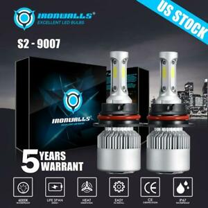 9007 Hb5 Csp Led Headlight Conversion Kit Bulbs 1800w 270000lm Lamp Hi Lo 6000k