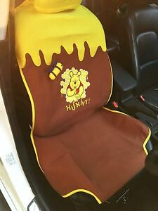 Winnie The Pooh Car Accessory 1 Piece Yellow Brown Car Seat Cover 10
