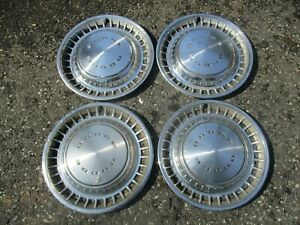 1972 To 1976 Dodge Charger Coronet Dart 14 Inch Metal Hubcaps Wheel Covers