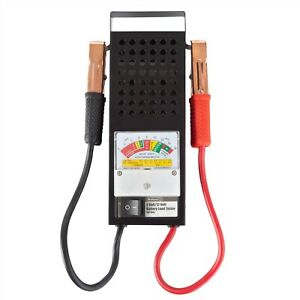 Car Truck Battery Tester Volt Load Meter For 6 And 12 V Auto Engine Draw
