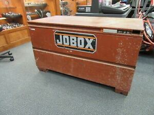 Jobox 1 654990 Jobsite Tool Box chest 48in X 24in X 27 5in pick Up Only