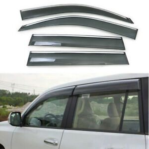 For Toyota Land Cruiser Prado Fj150 2010 2013 Window Visor Vent Wind Deflector