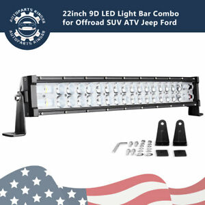 22inch Led Light Bar Offroad 120w For Ford 4wd Suv Atv Combo Driving Lamp 20 24