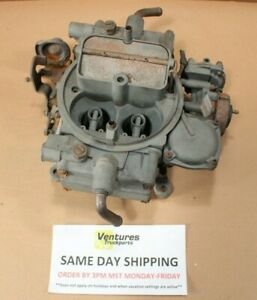 Holley 4 Barrel Carburetor E5he 9510 Db 50259 1 Ford Truck Motocraft
