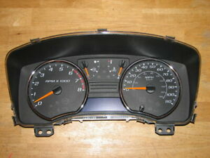 04 05 06 07 Chevy Colorado Complete Cluster For Manual Transmission with Tpms