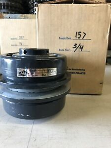 Hi lo Manufacturing Variable Speed Pulley Model Dcv 157 Bore 3 4in