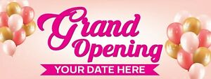 Personalized Grand Opening Advertising Vinyl Banner Sign For New Businesses