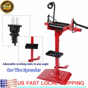 Red Car Truck Tire Spreader Tire Changer Repair Tires Tools Auto Equipment
