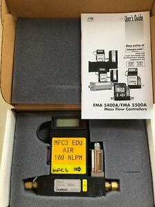 Omega Fma5542a Gas Mass Controllers W Integral Display Mass Flow Meter