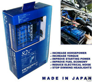 Raizin Blue 82 Max Jdm Universal Voltage Stabilizer Japan Connects To Battery