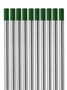Tig Welding Pure Tungsten Electrodes 1 8 Green Tip 2 Pack Special