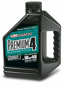 Maxima Premium4 10w 40 Motorcycle Engine Oil 1 Gallon 349128