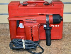 Hilti Drill Te 12s Hammer Drill With Case Pre Owned Free Shipping
