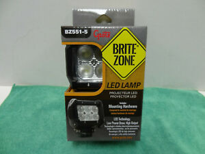 Brand New Grote Bz551 5 Brite Zone Work Light Led 1200 Lumes