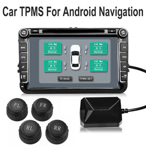 Usb Car Auto Tpms Tire Pressure Monitor System For Android Video Player Ma1906