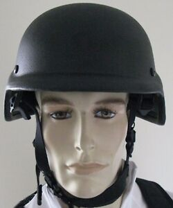 New United Shield International PASGT Ballistic Helmet NIJ Level II
