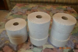 Reinforced White Paper Tape 2 7 8 Inch X 450ft 8 Rolls
