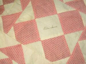 Gorgeous Antique Quilt Squares Some With Names