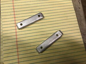 Vintage Chevrolet 1951 1952 Tail Light Mounting Braces One Pair