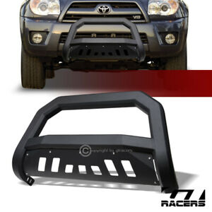 For 2003 2009 Toyota 4runner Matte Blk Avt Edge Bull Bar Brush Push Bumper Guard