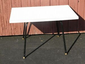 Mid Century Modern Retro Formica Table End Side Stand Vintage Child S Children