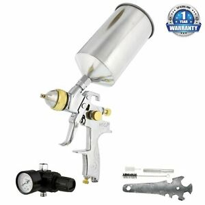 Professional 1 3mm Hvlp Spray Gun Gravity Feed Auto Paint Basecoat Clearcoat