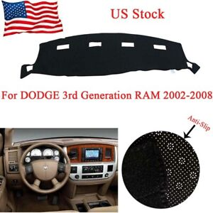 Dashmat For Dodge Ram1500 2500 3500 2003 Dash Cover Protector Carpet No Curl Pad
